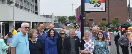 Rehoboth dedicates 'Steve Elkins Way' as ED search gets underway