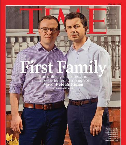 Mayor Pete Buttigieg and husband Chasten Buttigieg land Time Magazine cover