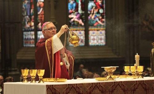 Priest begs gays not to leave church over bishop's tweet