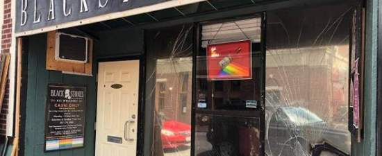 Decades later, Maine gay bar replaces windows smashed by bigots