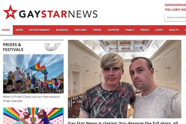 LGBTQ publication Gay Star News closes - Watermark Online