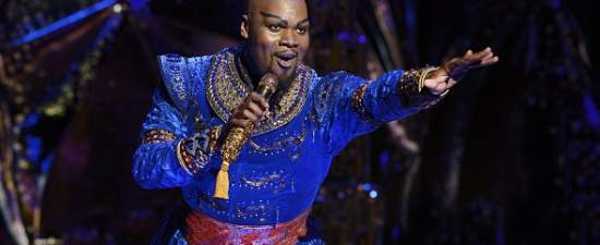 Orlando native and out performer Michael James Scott to reprise role of Genie in 'Aladdin' at Dr. Phillips Center