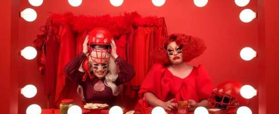 'Drag Race' queens Kim Chi and Miz Cracker are making Super Bowl history